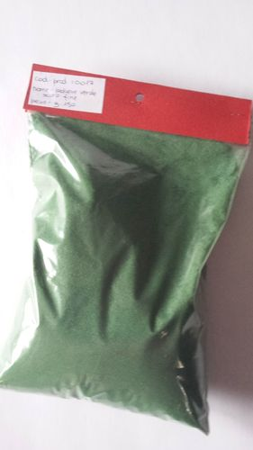 dark green fine powder