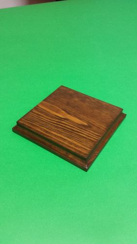 solid wood fir's base cm 12x12x2
