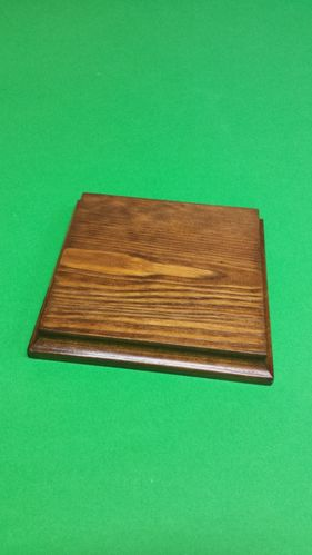 solid wood fir's base 14x14x2