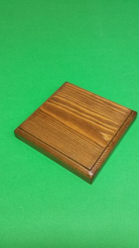 solid wood fir's base 12x12x2