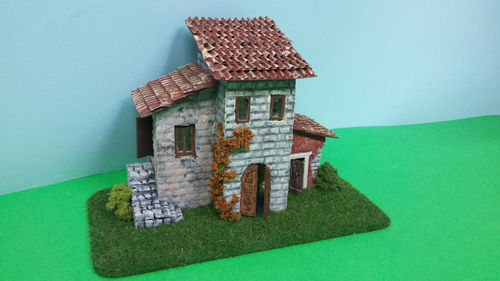 Nativity scenes house
