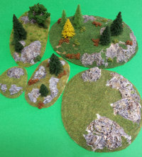 Bases for Worldgame